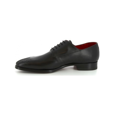 Leonardo Shoes 9047/19 TOM VITELLO NERO Černá