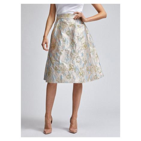 Světle růžová květovaná sukně Dorothy Perkins - S