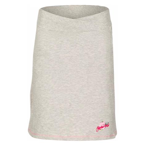 Dámská sukně Alpine Pro MANIQUA 2 - světle šedá