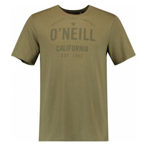 O'Neill LM OCOTILLO T-SHIRT tmavě zelená - Pánské tričko