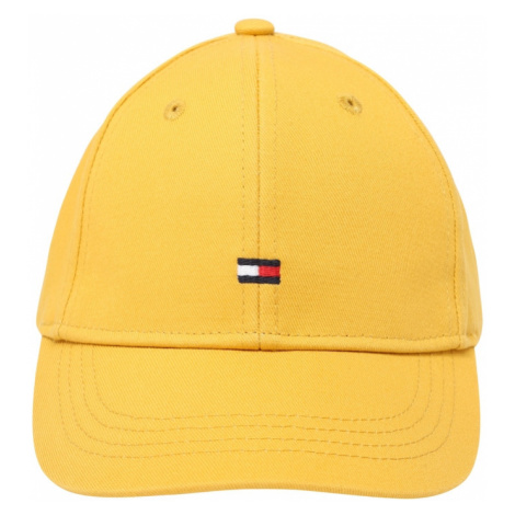 TOMMY HILFIGER Klobouk žlutá / námořnická modř / bílá / červená