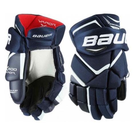 Bauer VAPOR X800 JR tmavě modrá - Juniorské hokejové rukavice