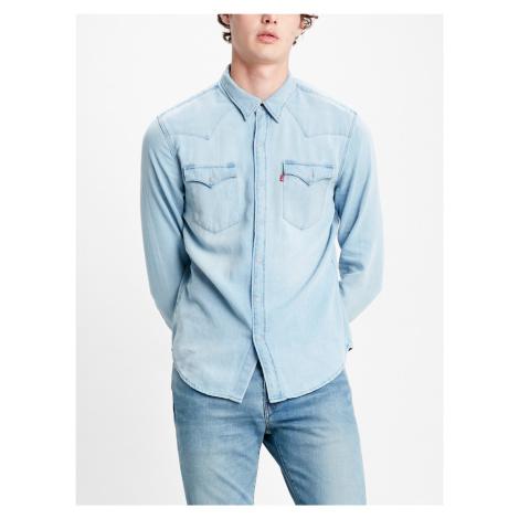 Košile Levi's® Barstow Western Standard Lw Super Ligh Modrá Levi´s