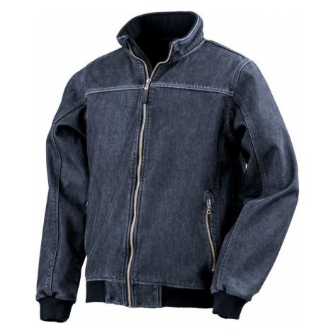 Denim 3-vrstvá Softshell bunda - Modrá