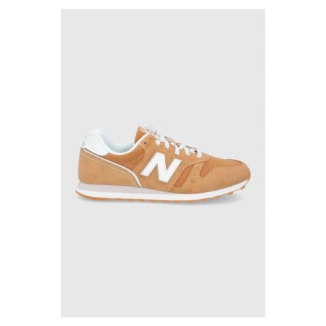New Balance - Kožené boty ML373SM2