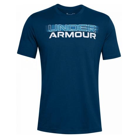Tričko Under Armour BLURRY LOGO Tmavě modrá