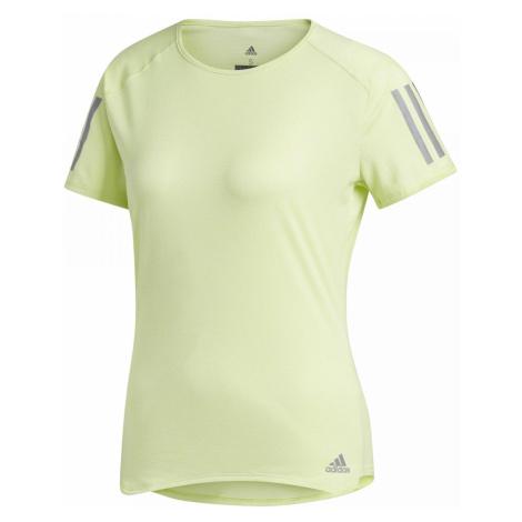 Dámské tričko adidas Response TEE W Žlutá