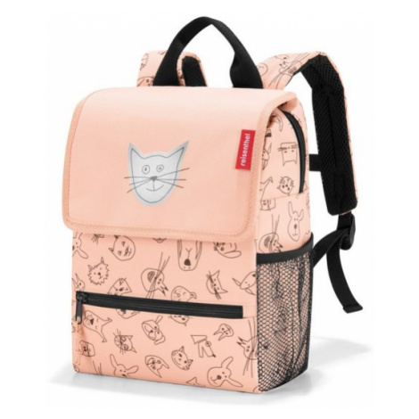 Dětský batoh Reisenthel Backpack kids Cats and dogs rose