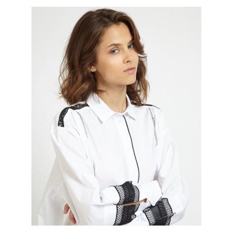 Košile La Martina Woman Cotton Poplin Shirt L/S - Bílá