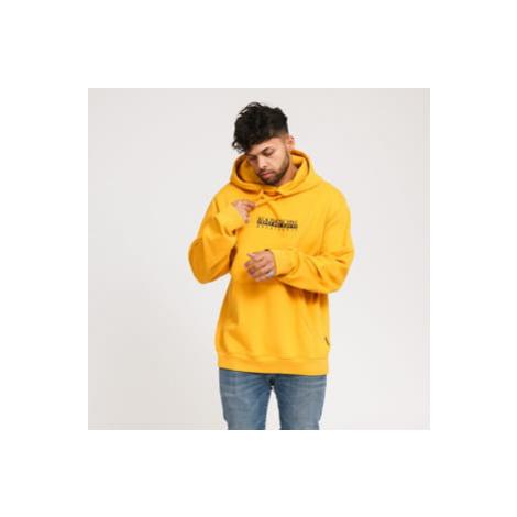 NAPAPIJRI B - Box Hoodie tmavě žlutá