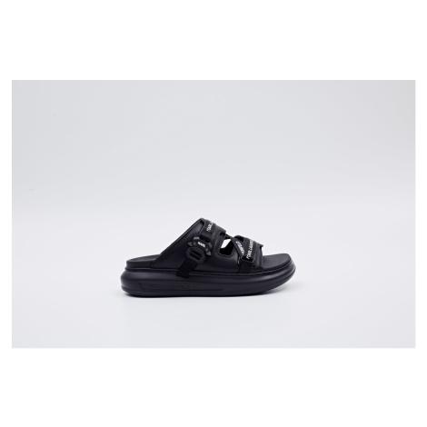 Pantofle Karl Lagerfeld Kapri Web Strap Sandal - Černá
