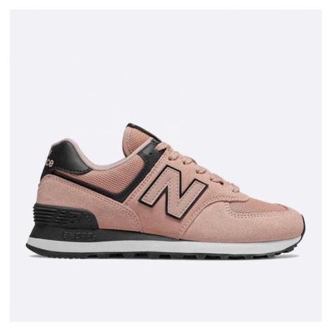 Dámské růžové tenisky New Balance WL574WEG