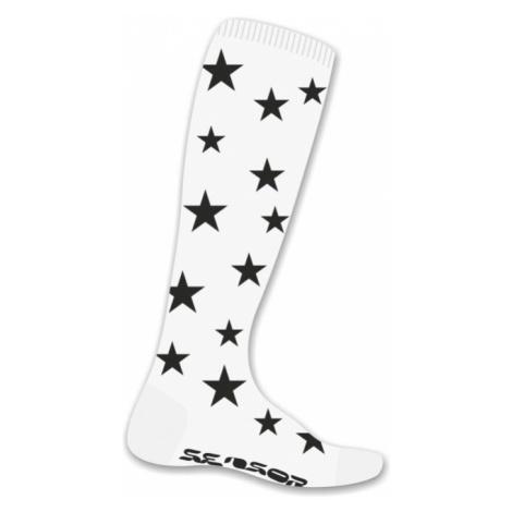 THERMOSNOW STARS Lyžařské podkolenky 16200159 bílá Sensor