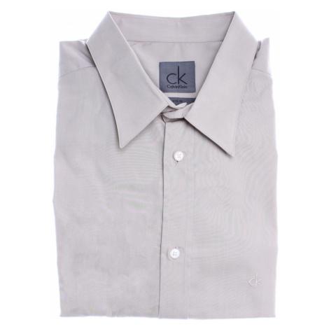 Calvin Klein pánská béžová košile