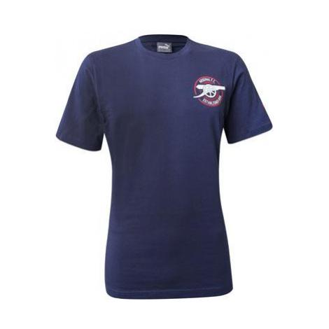 Tričko Puma Arsenal Graphic Tee Tmavě modrá