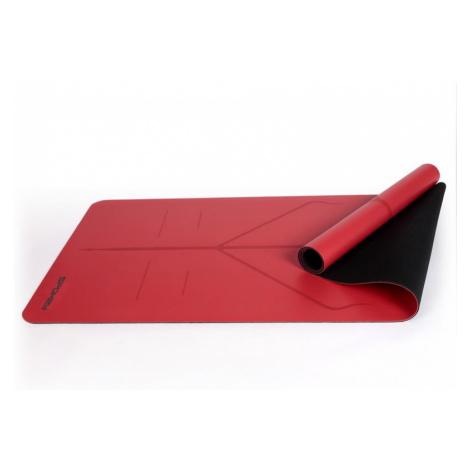 Spokey JUDY Gumová podložka na cvičení, červená 0,1 cm