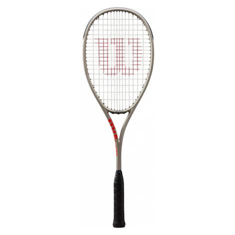 Squashová raketa Wilson Pro Staff L Silver/Red