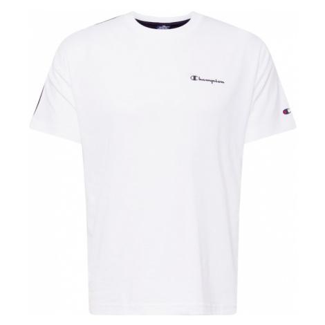 Champion Authentic Athletic Apparel Tričko bílá / černá / námořnická modř / limone / ohnivá červ