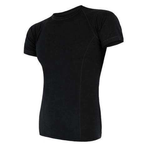 Pánské tričko SENSOR Merino Air černá