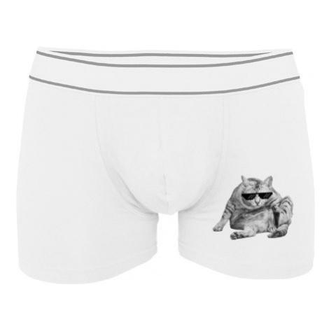 Pánské boxerky Contrast Drsná kočka