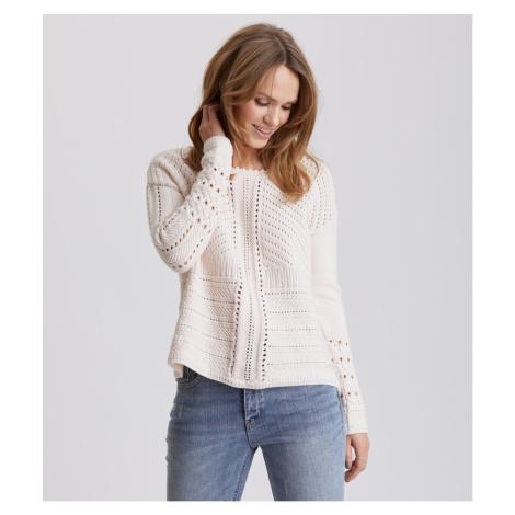 Svetr Odd Molly Symmetry Moves Sweater - Růžová