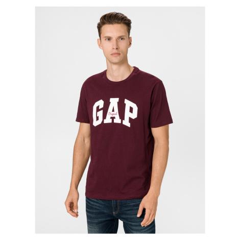 GAP fialové pánské tričko s logem