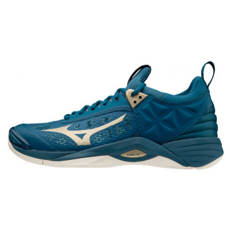 Pánská sálová obuv Mizuno Wave Momentum Blue, EUR 48,5 / UK 13 / 32,5 cm