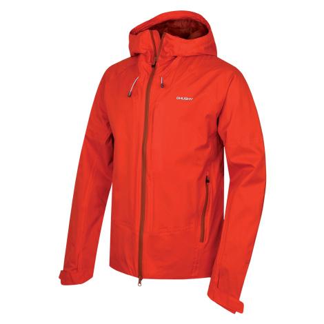 Husky Nicker M, červená Pánská hardshellová bunda