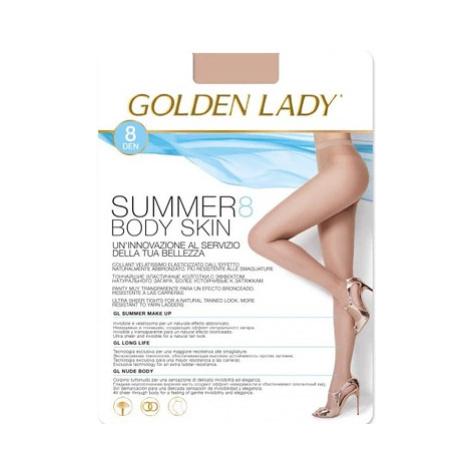 Dámské punčochové kalhoty Golden Lady Summer Body Skin 8 den 2-4 the/odstín béžové