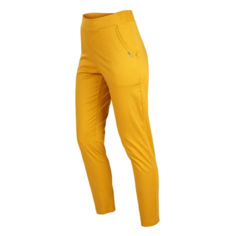 Dámské kalhoty do pasu Litex 5B155 | hořčicová
