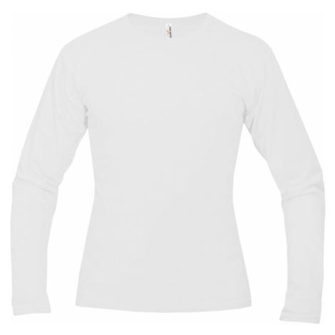 Tričko pánské AF long dlouhé - Bílé