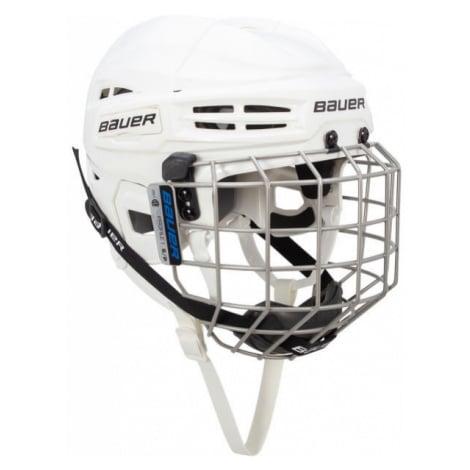 Bauer IMS 5.0 HELMET CMB II bílá - Hokejová helma