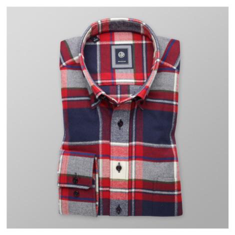 Košile klasická s kostkovaným vzorem 9913 Willsoor