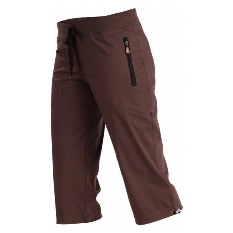 LITEX Kalhoty dámské v 3/4 délce bokové. 99583419 čokoláda