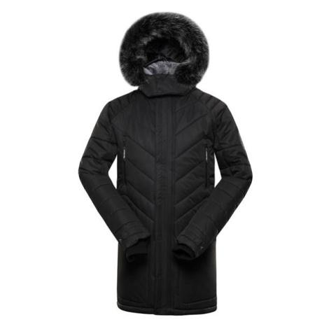 Icyb 6 černá pánská zimní bunda s membránou ptx ALPINE PRO