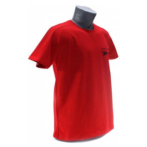 Červené pánské tričko s kulatým výstřihem Ashton Tony