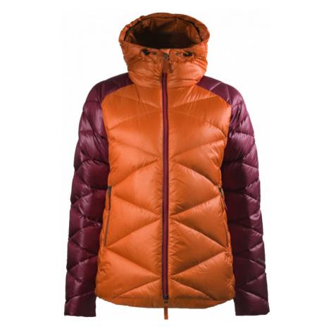 Zimní péřová bunda Skhoop Klara burnt orange