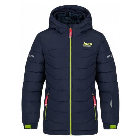 LOAP FUNKO Dětská lyžařská bunda OLK2009M37N Black Iris / Green
