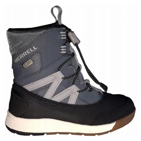 Dětská obuv Merrell Snow Crush Šedá / Černá