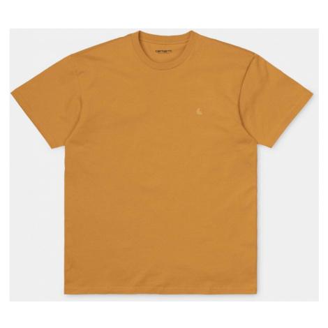 TRIKO CARHARTT Chase S/S - oranžová Carhartt WIP