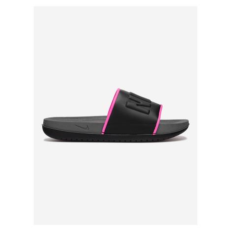 Offcourt Icon Clash Pantofle Nike Černá