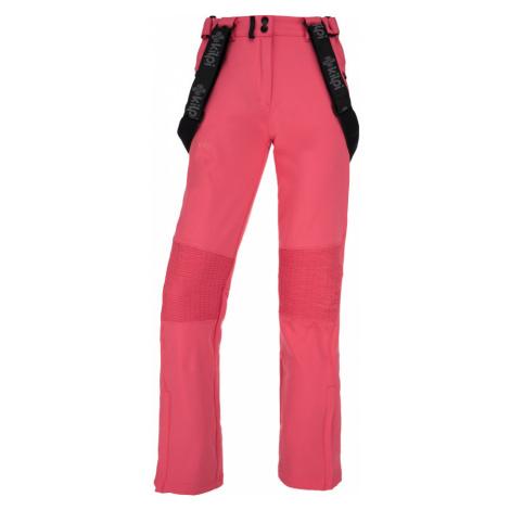 KILPI Dámské softshellové kalhoty DIONE-W JL0013KIPNK Růžová