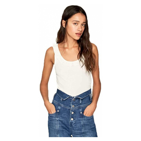 Pepe Jeans dámské bílé tílko Diane