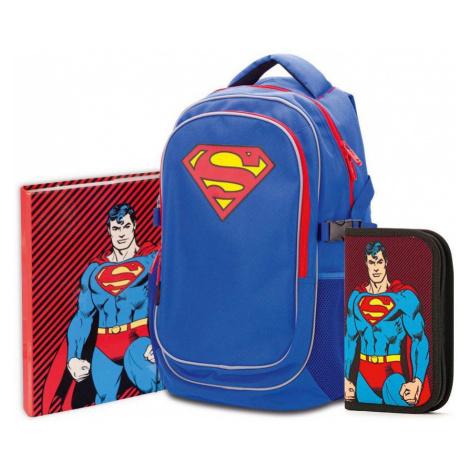 Baagl Školní set Superman