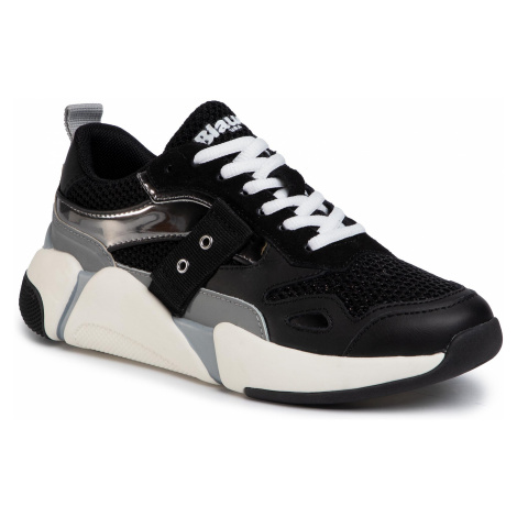 Sneakersy BLAUER - S0MONROE01/MEG Black