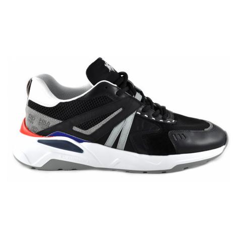 Tenisky La Martina Man Shoes Calf Suede - Šedá