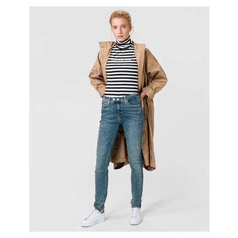 011 Mid Rise Skinny Jeans Calvin Klein