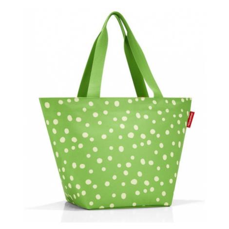 Nákupní taška přes rameno Reisenthel Shopper M Spots green