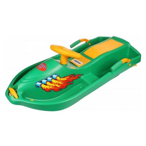 plastové boby Snow Boat 007 řiditelné, s brzdami barva: modrá Merco