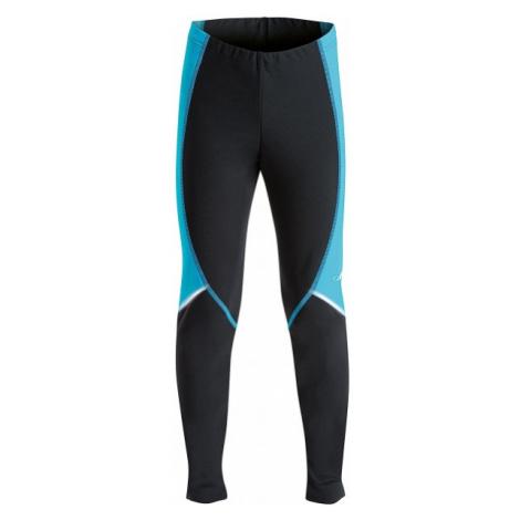 Axis KALHOTY BEŽKY KIDS modrá - Dětské zimní běžecké kalhoty
